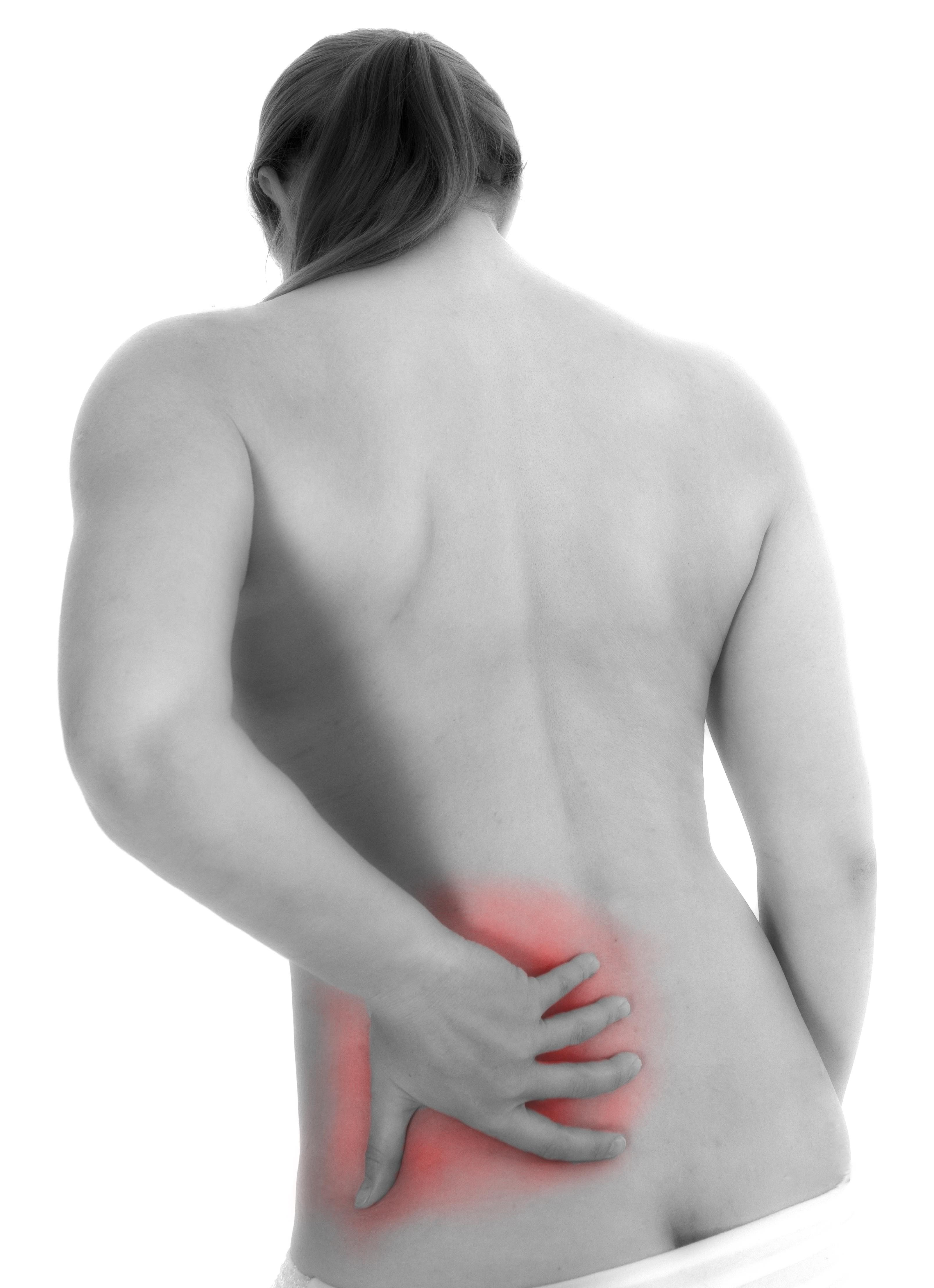 akutt smerte i ryggen