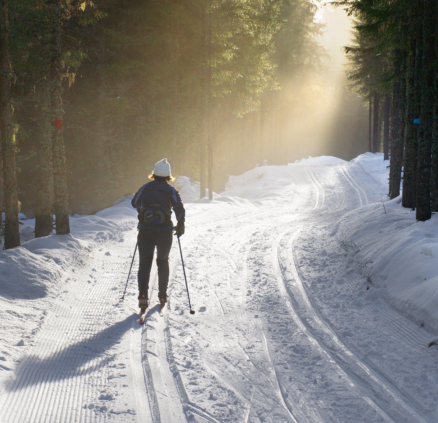 Langrenn foto skiforeningen
