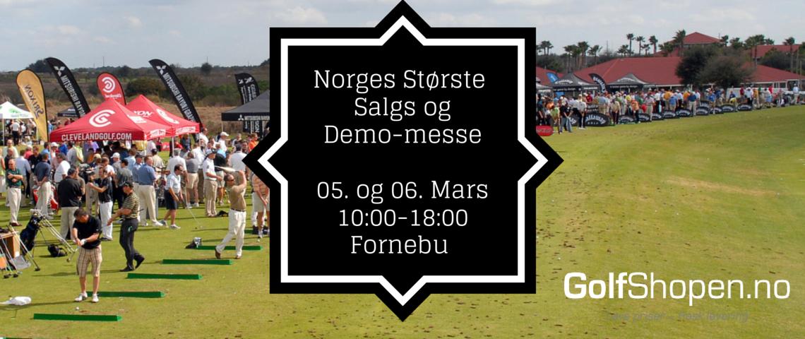 Salgs- og demomesse på Fornebu Indoor Golf Center