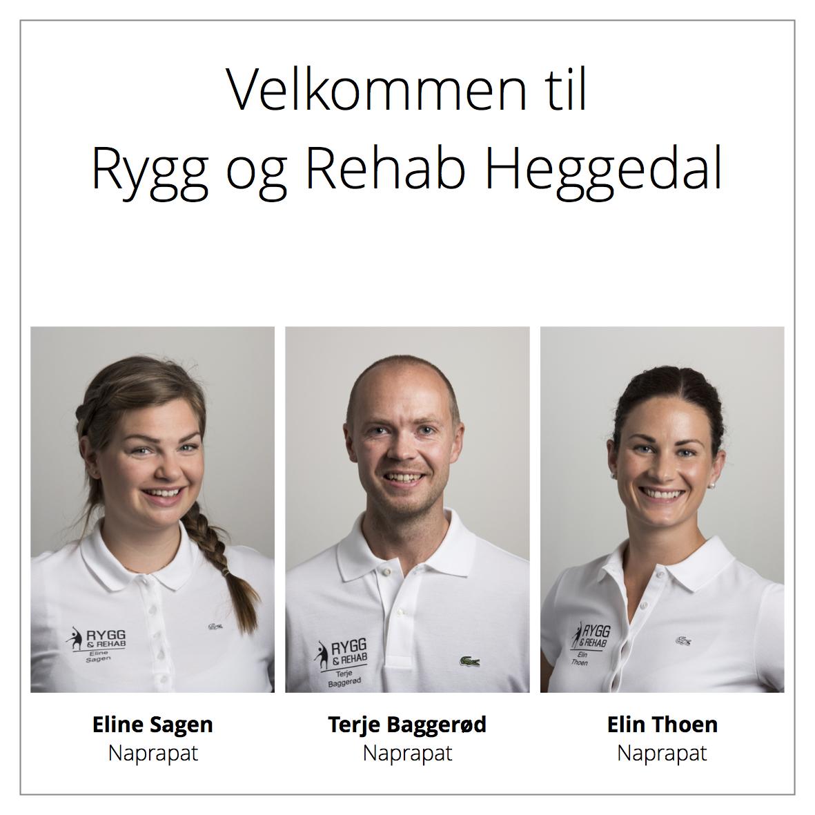 Ansatte ved Rygg og Rehab Heggedal