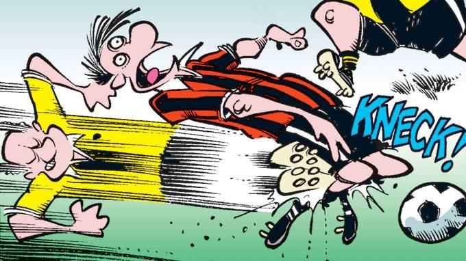 Bedriftsidretten fotball idrettsskade
