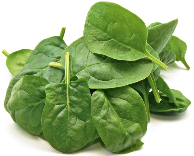 Laks med spinat