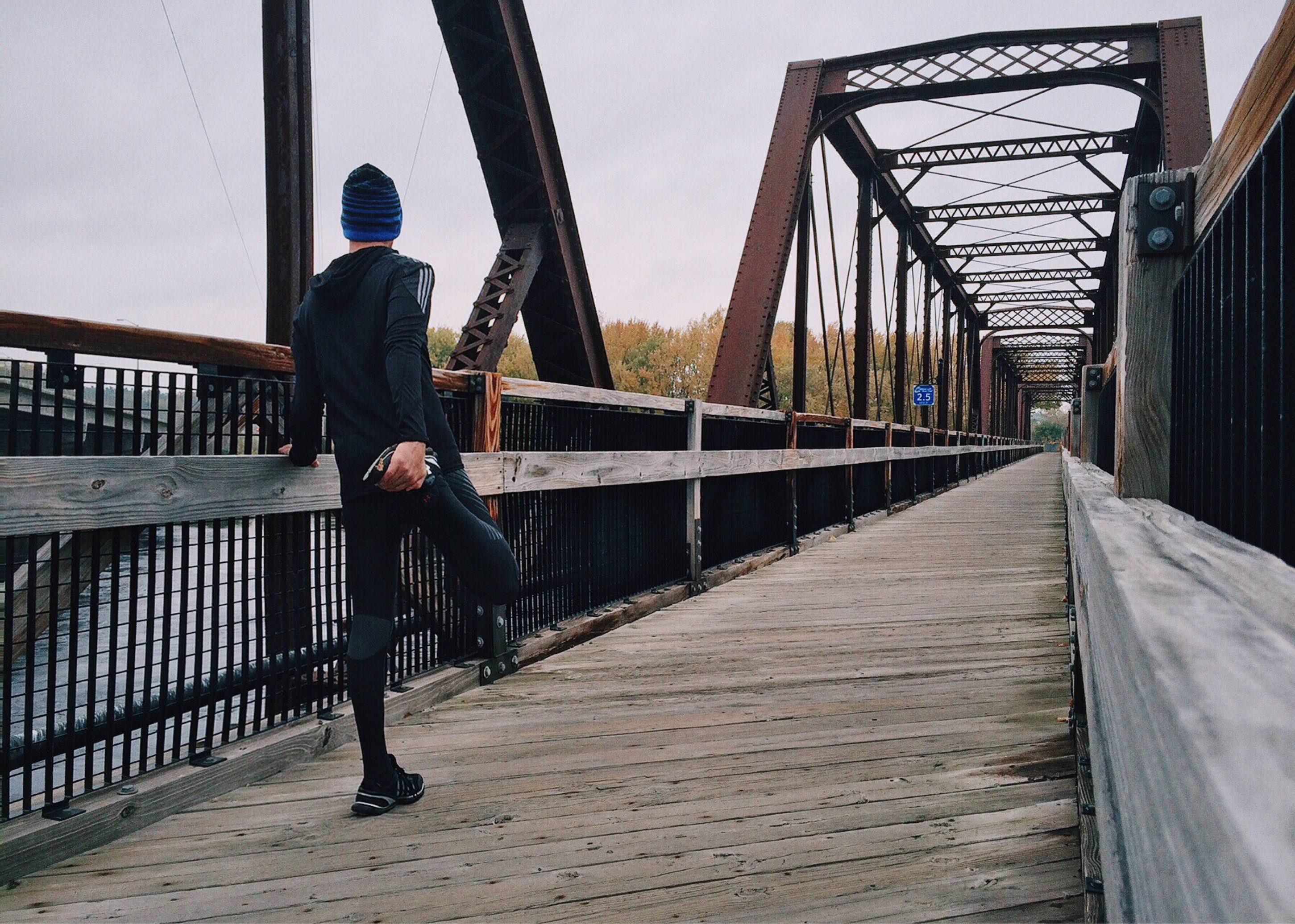 løpe ute om vinteren