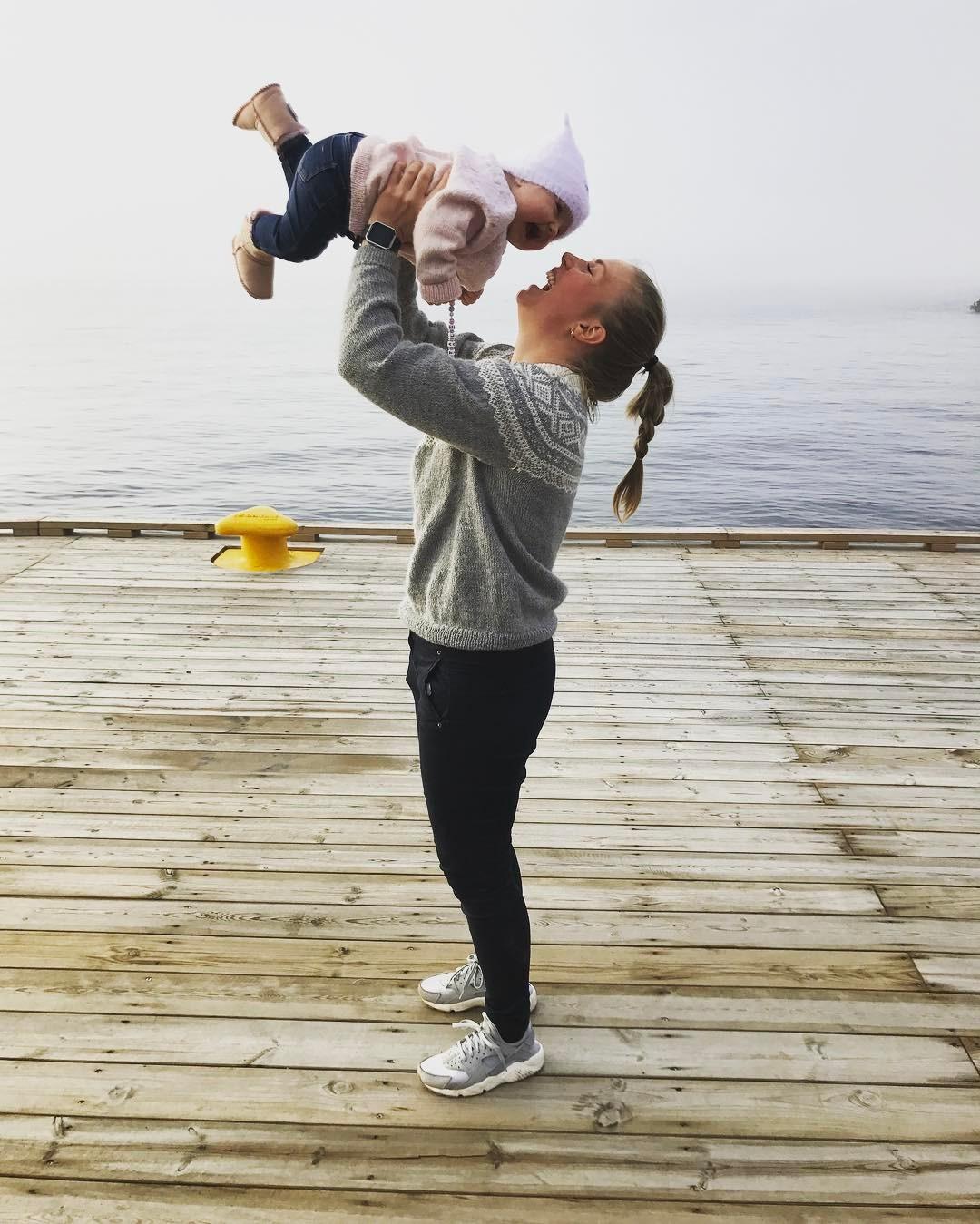 Martine Kløvjan tilbake fra mammapermisjon