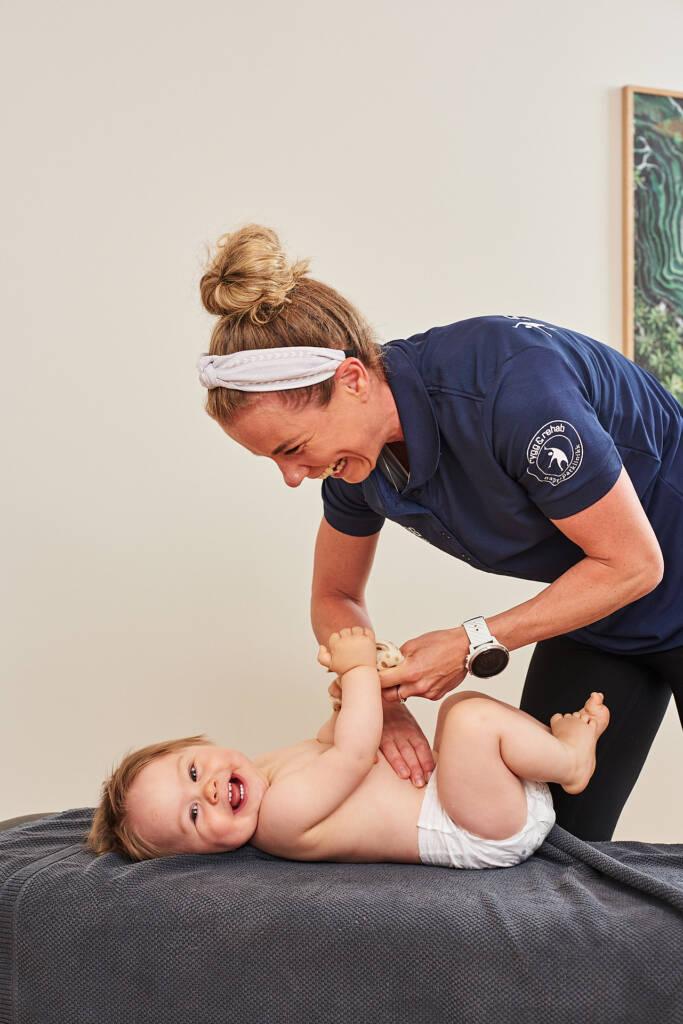 Behandling av barn hos kiropraktor